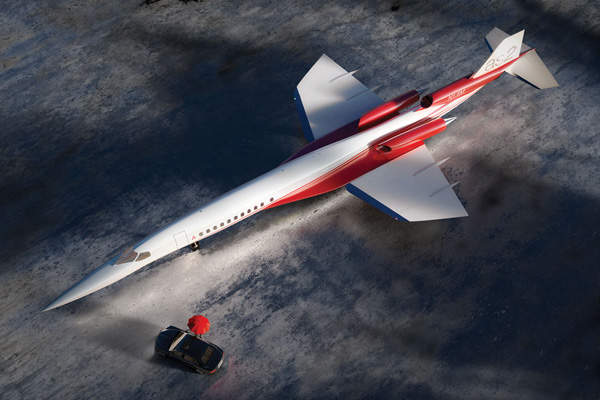 The Aerion AS2, with ovoid fuselage, offers ideal shape required for a supersonic business jet. Image courtesy of Aerion Corporation.
