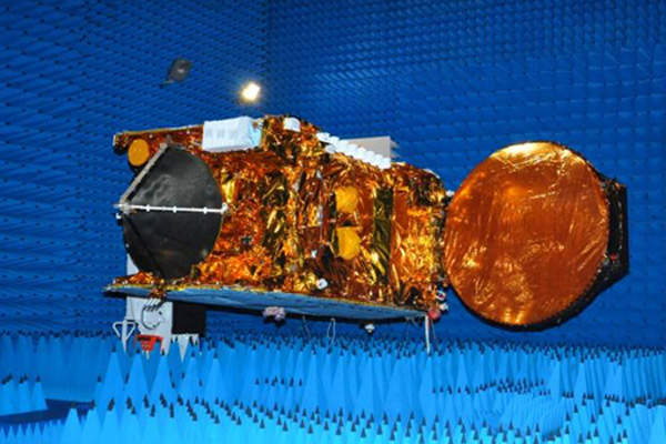 The satellite is equipped with a total of 48 communication transponders. Image courtesy of ISRO.