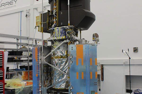 The VHRI 100 imager on SSTL 300 S1 platform. Credit: SSTL.