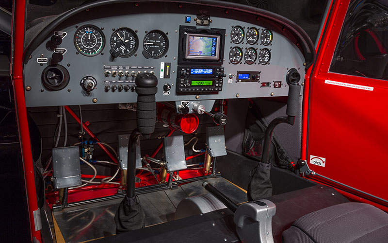 The flight deck of S-20LS Raven. Image: courtesy of RANS.