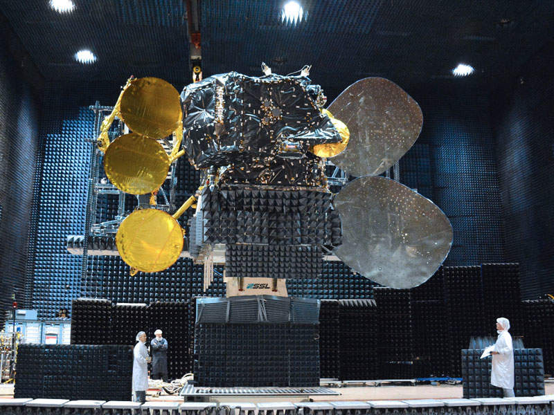 Amazonas 5 is equipped with 34 Ka-band spot beams and 24 Ku-band transponders. Image: courtesy of Hispasat.