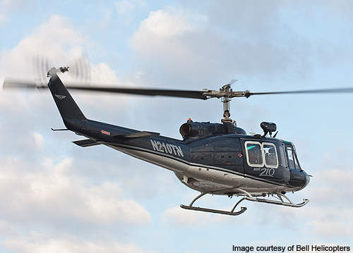 Bell 210 featuring zero timed airframe.