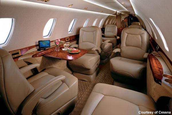 Cessna says that it has delivered 176 Sovereign aircraft by the end of 2007.