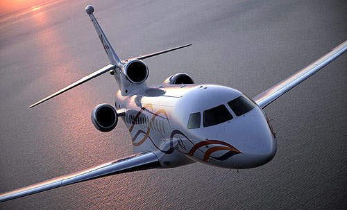 The Falcon 7X is powered by three Pratt & Whitney Canada PW307A engines rated at 28.47kN (6,402lb) thrust.