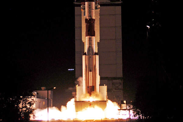 The satellite was launched into the space in October 2014. Image courtesy of Indian Space Research Organisation (ISRO).