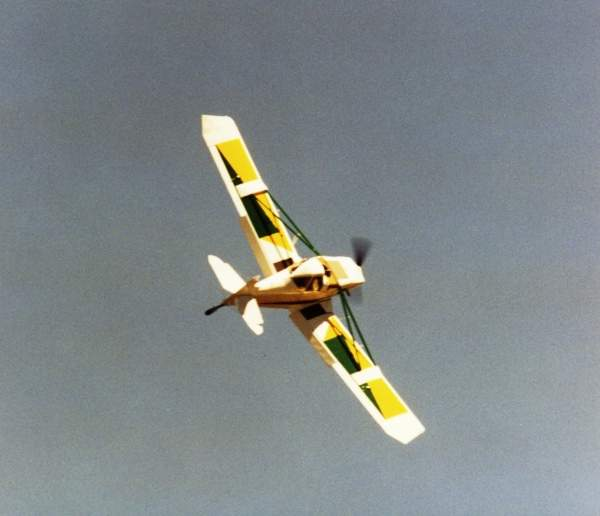 GA200 during its maiden flight in 1990. Image courtesy of GippsAero.