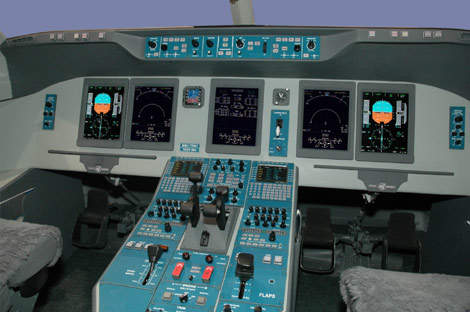 Thales is responsible for the Superjet 100 avionics suite, including displays, communication, navigation and surveillance systems.