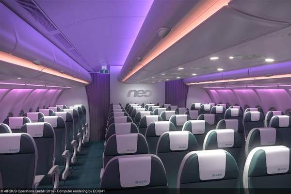 The A330-900neo has seating capacity for up to 440 passengers and the A330-800neo can seat up to 406 passengers.