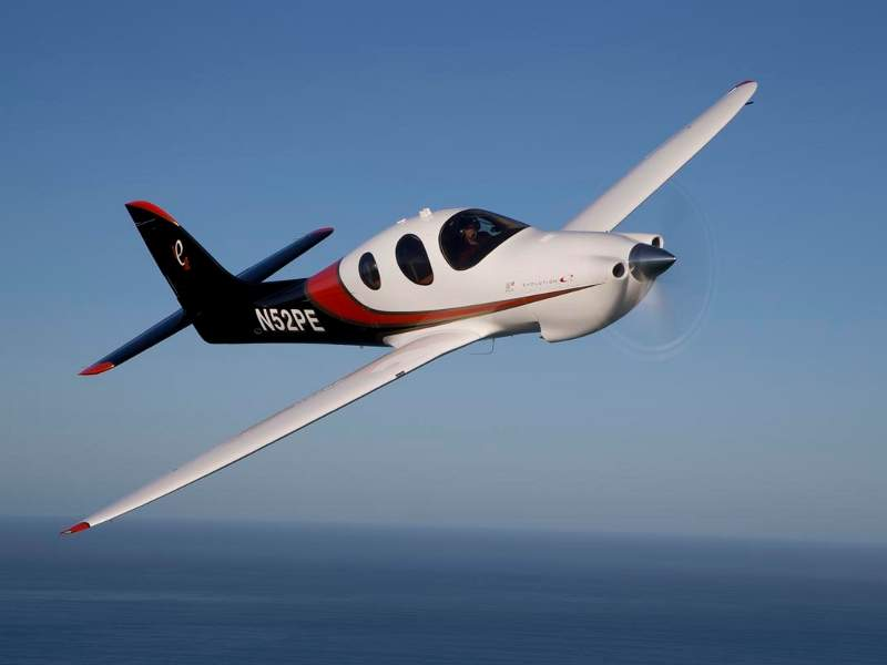 The aircraft accommodates three passengers and one pilot. Image: courtesy of Lancair.