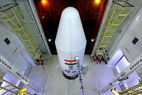 The MOM development programme was approved by the government of India in August 2012. Image courtesy of ISRO.
