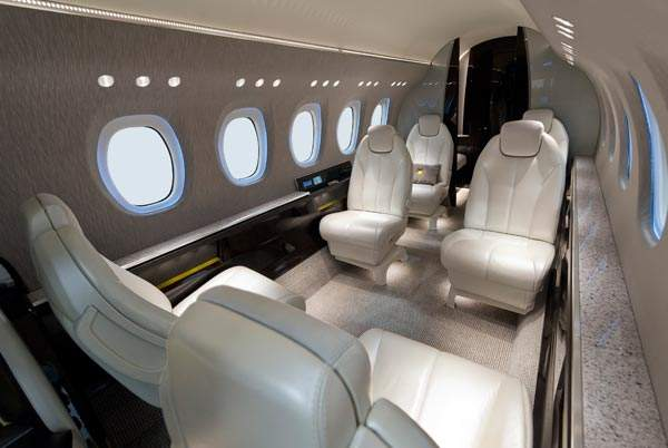 Cessna Citation Latitude contains space for two pilots and six to nine passengers. Image courtesy of Cessna Aircraft Company.
