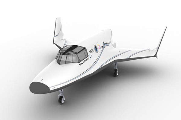 Commercial flight of the Lynx spaceplane is scheduled for 2018. Image: courtesy of XCOR Aerospace.
