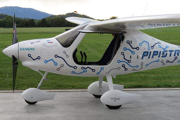 The WATTsUP aircraft has a cruising speed of 85kt. Image: courtesy of Pipistrel.