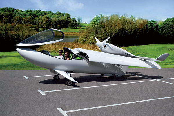 The aircraft accommodates two passengers in side-by-side seat configuration. Image courtesy of Lisa Airplanes.