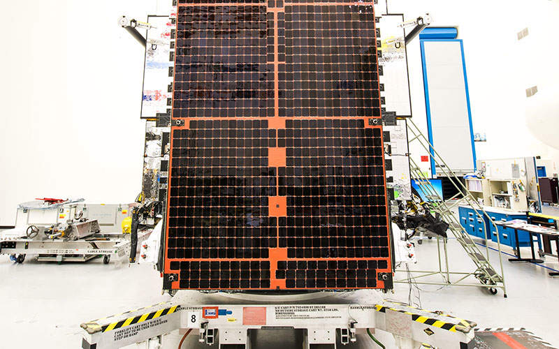 Intelsat 29e is the first satellite of the Intelsat EpicNG high-throughput satellite series. Image: courtesy of Intelsat.