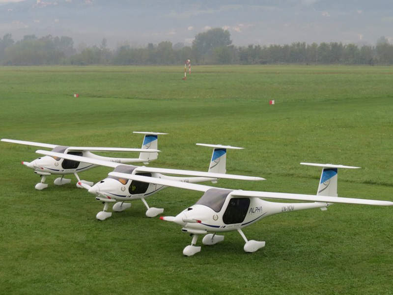 The aircraft can take-off from and land on short airfields. Image: courtesy of Pipistrel.
