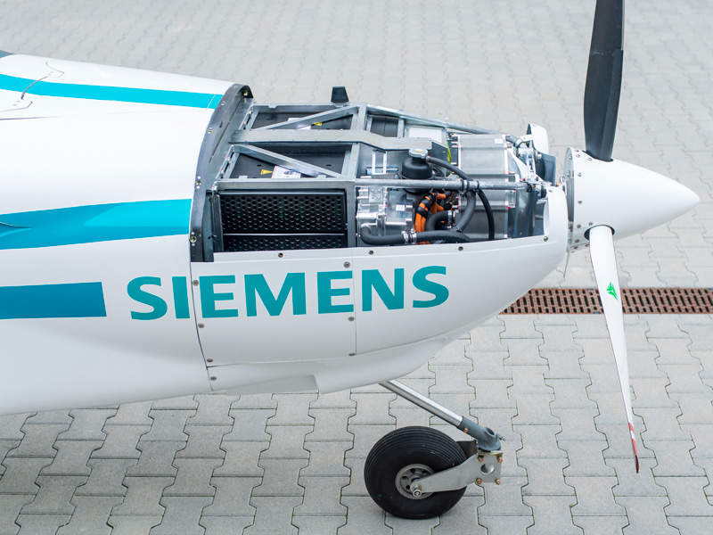 The eFusion LSA is being developed by Magnus Aircraft in partnership with Siemens. Image: courtesy of Magnus Aircraft.