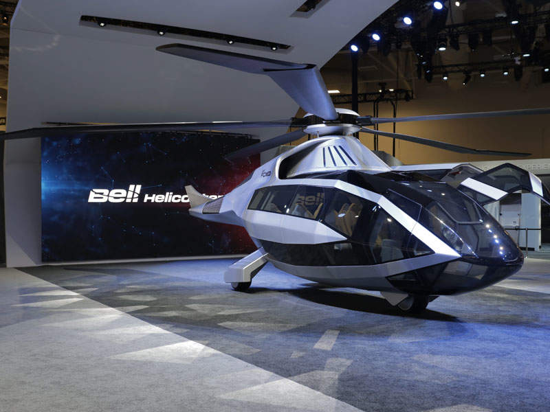 Bell has applied for a patent on the concept aircraft design. Image courtesy of Bell Helicopter.