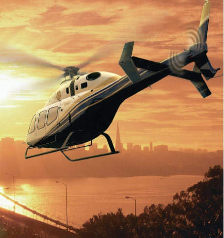 The Bell 429 employs new technologies developed under Bell's MAPL program.