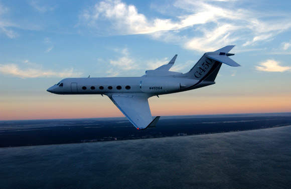 The G450 is powered by two Rolls Royce Tay Mark 611-8C turbofan engines, each providing 61.6kN thrust.