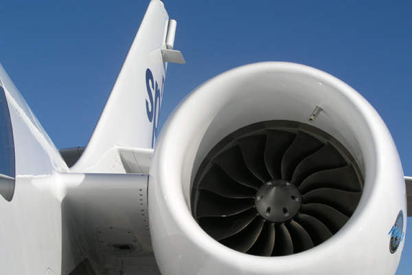 The SPn is powered by two Williams FJ44-3A turbofan engines, fitted with FADEC and rated at 1,270kg thrust.