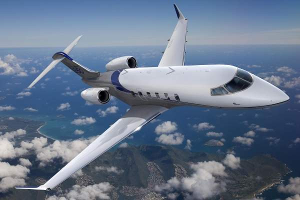 The Challenger 350 aircraft has a maximum range of 3,200nm (5,926 km).