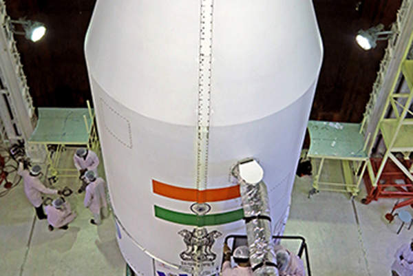 The satellite was launched atop PSLV C-22 rocket. Image courtesy of ISRO.