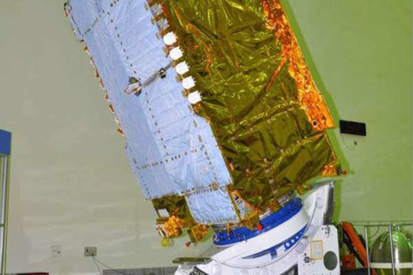 The satellite will continue the services currently provided by INSAT and GSAT domestic communication satellite systems. Image courtesy of ISRO.