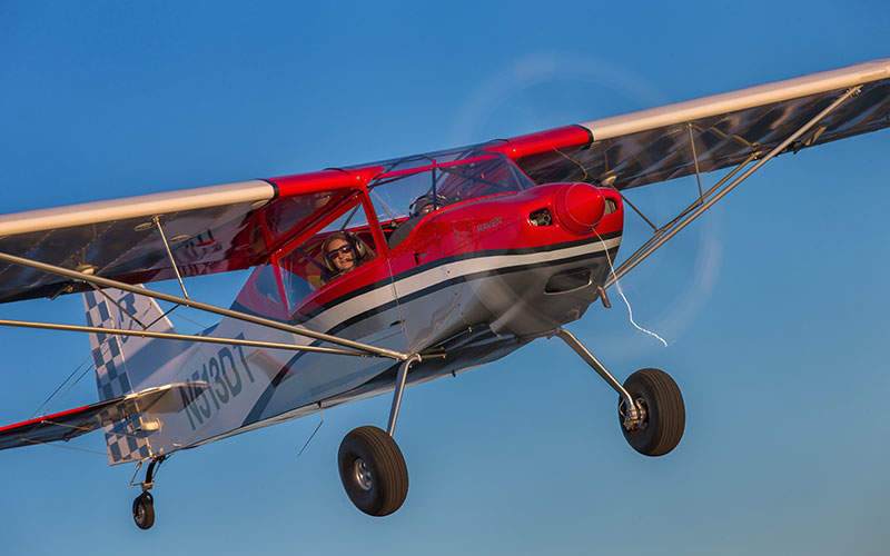 The aircraft has a cruise speed of 112mph. Image: courtesy of RANS.