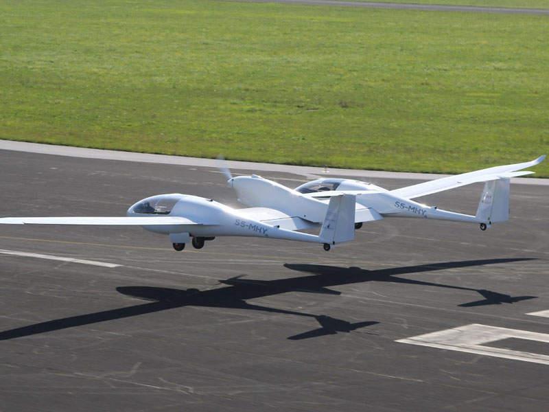 The HY4 aircraft has a range of up to 1,500km. Image: courtesy of Deutsches Zentrum für Luft- und Raumfahrt (DLR).