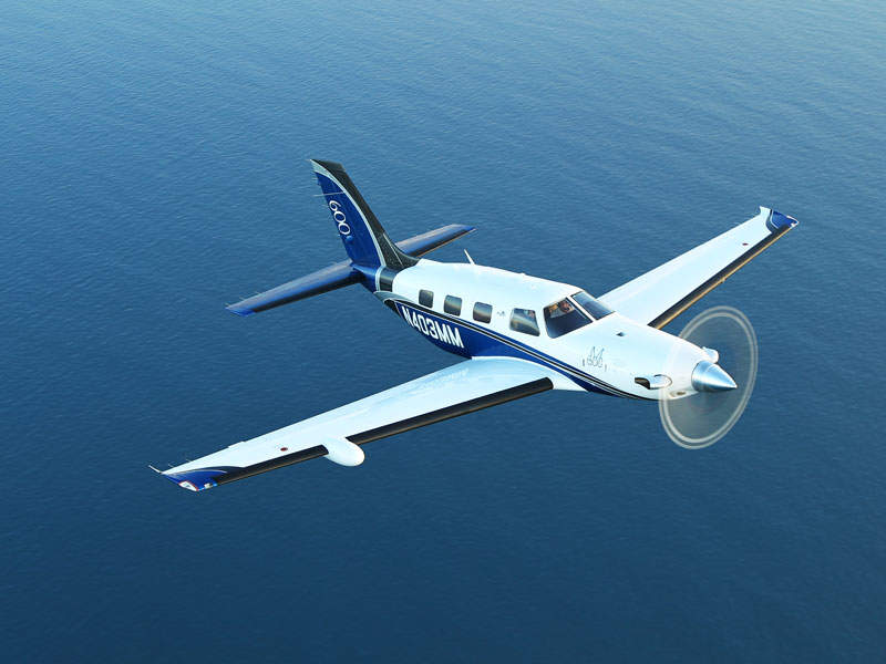 The Piper M600 has a maximum approved altitude of 9,144m (30,000ft). Image: courtesy of Jim Barrett Photography.