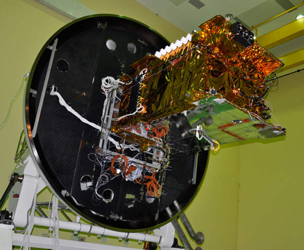 GSAT-10 is part of the ISRO-operated INSAT system. Image courtesy of ISRO.