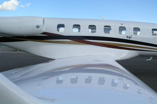 The SPn cabin can be rapidly converted for passenger, cargo or air ambulance missions.