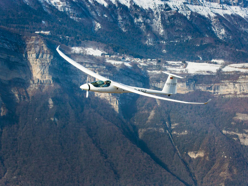 The aircraft has a climb rate of 4.21m/s. Image: courtesy of Stemme AG (www.stemme.com).