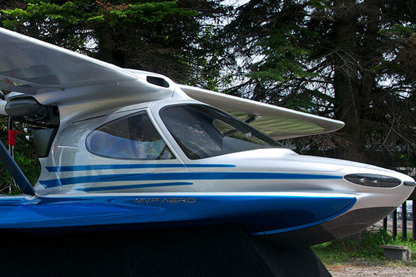 The seats can be removed and placed on the nose of the aircraft for fishing. Image courtesy of MVP Aero.