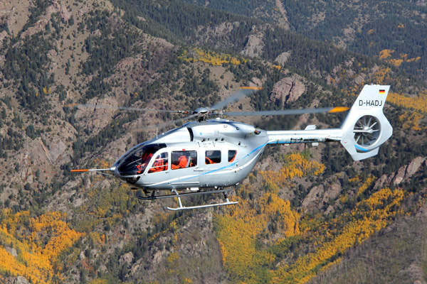 The helicopter has 213,15ft³ of cabin volume. Image courtesy of Eurocopter.