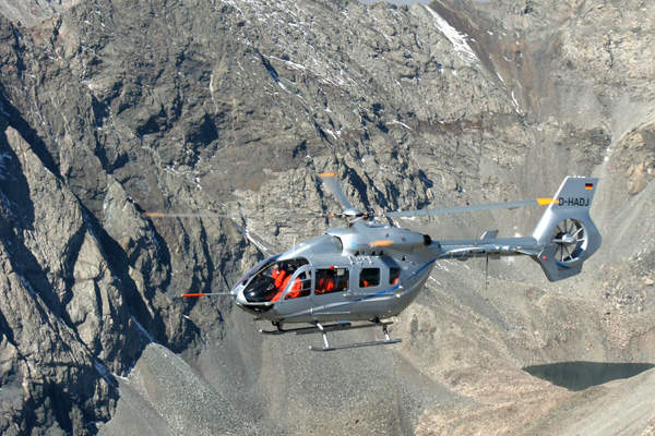 The maximum cargo sling load capacity of the EC145T2 is 1,500kg. Image courtesy of Eurocopter.