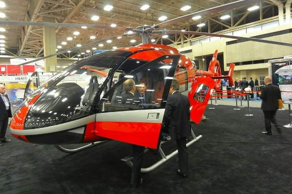 The SH09 helicopter is expected to obtain EASA certification by 2017. Image courtesy of Marenco Swisshelicopter AG.