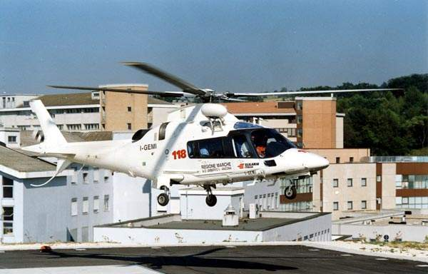The AW109 Power entered service in 1997.