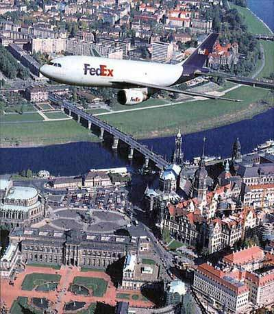 The launch customer for the A310-200F freighter was Federal Express.