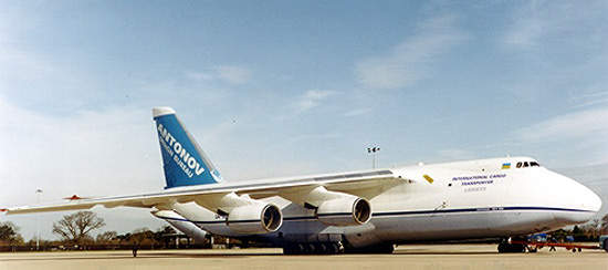 Antonov's fleet of An-124s has been increased to eight with a possible ninth aircraft in the pipeline.