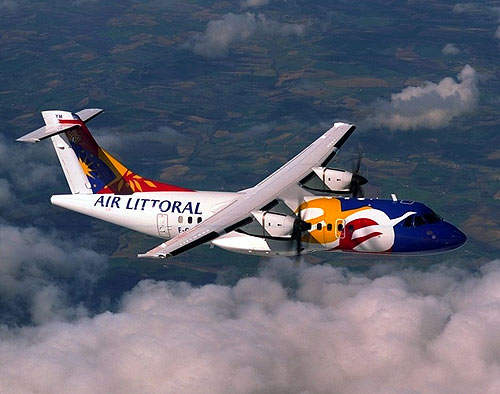 ATR 42-500 in the fleet of Air Littoral.