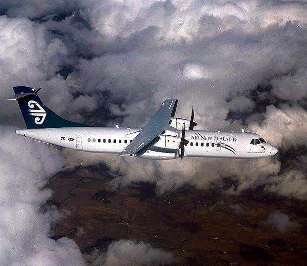 Air New Zealand has ordered nine ATR 72-500s for its fleet.