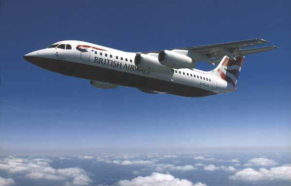 The Avro RJX was intended as a follow-on to the successful BAe 146 / Avro RJ family of four-engined regional jets.