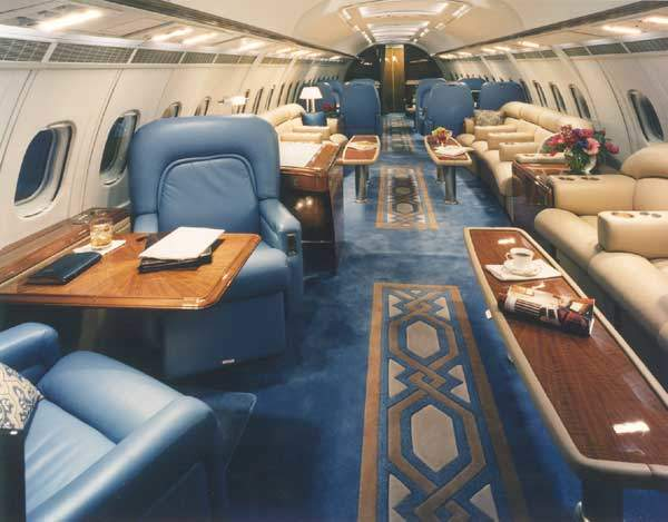 The large interior cabin allows the BAE 146 to operate as a corporate aircraft, corporate shuttle and a Heads of State aircraft.