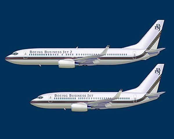 The Boeing business jet 2 (BBJ2) is a development of the BBJ family, with increased cabin volume and cargo volume.