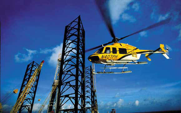 The Bell 407 is a derivative of the Bell 206L-3 LongRanger. The helicopter can fly in arctic, desert and hot-and-high environments.