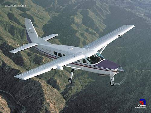 The Cessna Caravan 625 light utility and passenger aircraft.