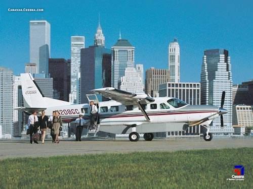 The Cessna Grand Caravan.