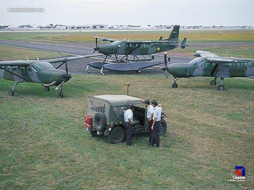 The Special Missions Caravan, in service with the Columbian Air Force.